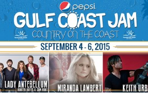 Right Now: Tickets On Sale For Gulf Coast Jam 2015!