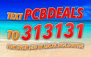 "Text ""PCBDEALS"" to 313131 For Over $50 in Discounts!"