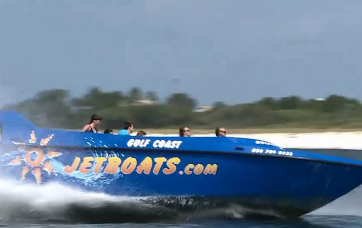 You Need To Try Out This Jet Boat Thrill Ride